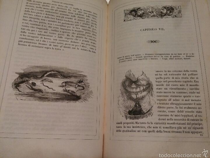 Libros antiguos: VIAJES DE GULLIVER - GIONATAN SWIFT - 1842 - MILAN - ITALIANO - 328 - Foto 3 - 54064776
