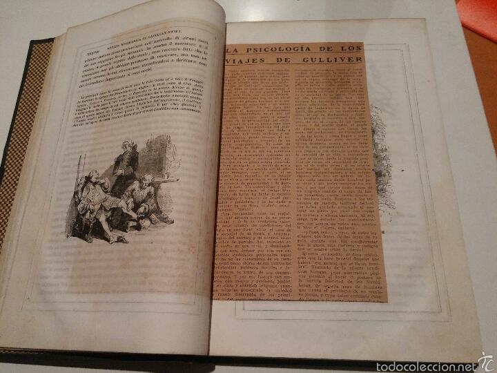 Libros antiguos: VIAJES DE GULLIVER - GIONATAN SWIFT - 1842 - MILAN - ITALIANO - 328 - Foto 4 - 54064776