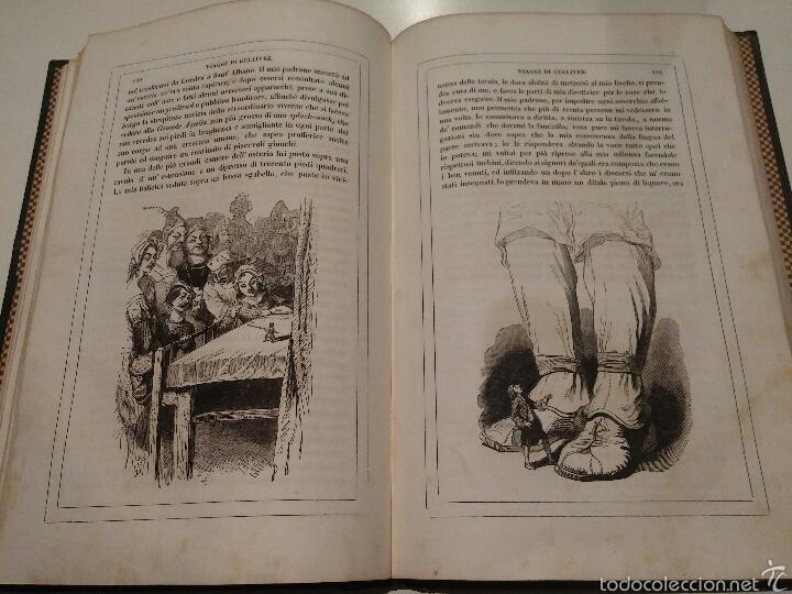 Libros antiguos: VIAJES DE GULLIVER - GIONATAN SWIFT - 1842 - MILAN - ITALIANO - 328 - Foto 5 - 54064776