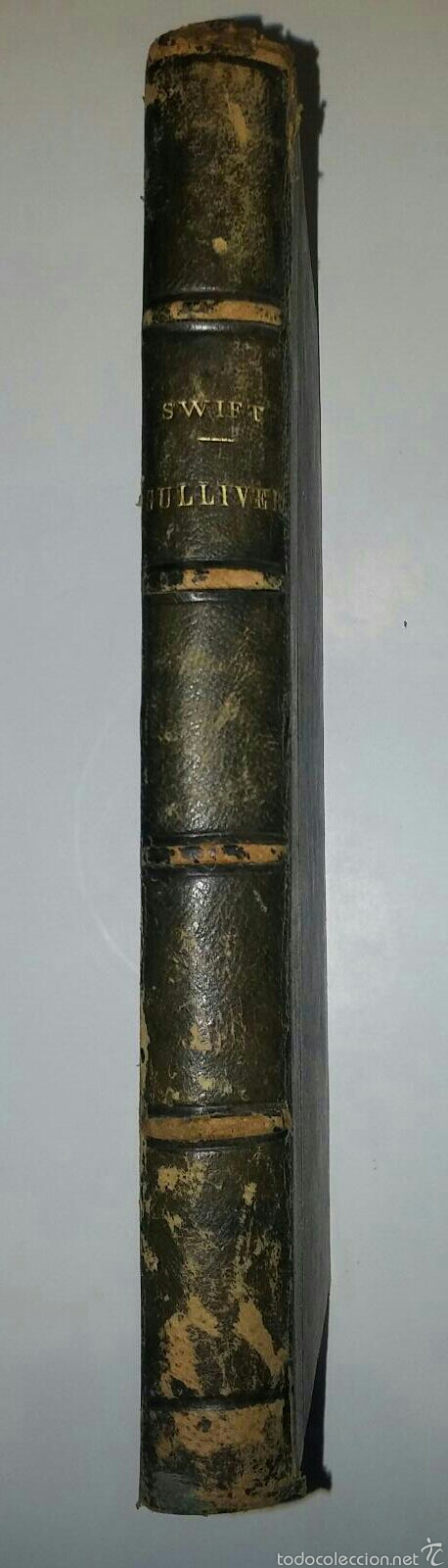 Libros antiguos: VIAJES DE GULLIVER - GIONATAN SWIFT - 1842 - MILAN - ITALIANO - 328 - Foto 6 - 54064776