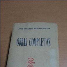 Libros antiguos: OBRAS COMPLETAS JOSE ANTONIO PRIMO DE RIVERA. Lote 54090828