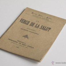 Libros antiguos: LA VERGE DE LA SALUT - MANEL RIBOT Y SERRA 1884. Lote 54096836