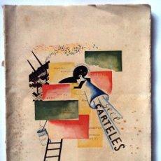 Libros antiguos: CARTELES. GECÉ 1927 ESPASA CALPE. INTONSO. Lote 53596161