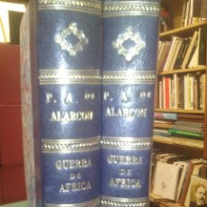 Libros antiguos: DIARIO DE UN TESTIGO DE LA GUERRA DE ÁFRICA. 2 VOL. Lote 54167492