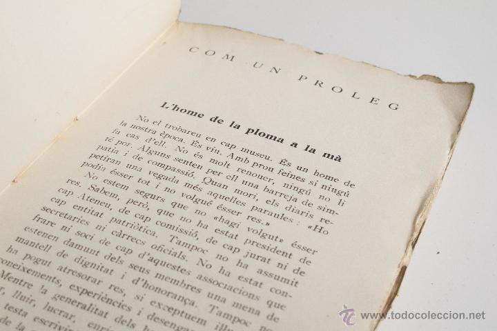 Libros antiguos: Una mica d'amor - Joan Puig i Ferreter - Foto 5 - 54169995