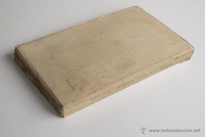 Libros antiguos: Una mica d'amor - Joan Puig i Ferreter - Foto 6 - 54169995