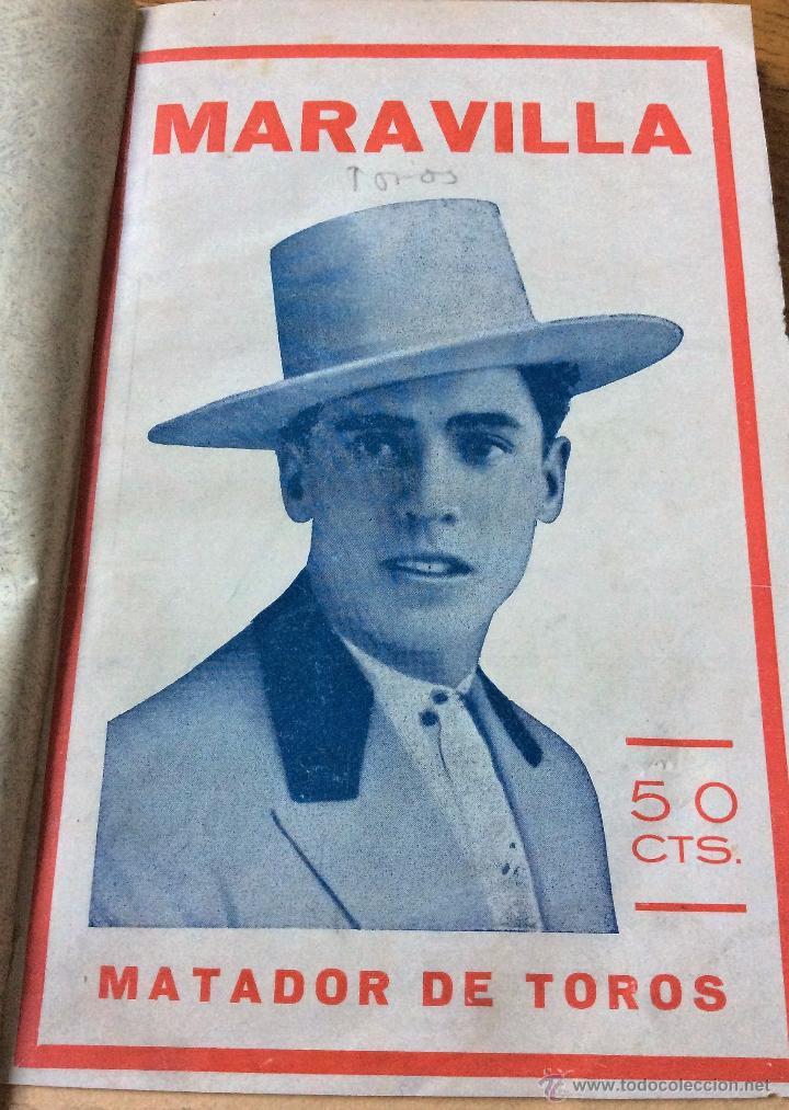 LIBRO TOROS MARAVILLA, MATADOR DE TOROS, DE PEPE MADRILES. 1932 (Libros Antiguos, Raros y Curiosos - Bellas artes, ocio y coleccionismo - Otros)