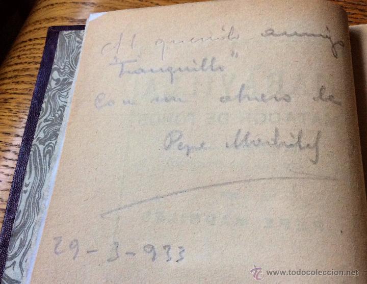 Libros antiguos: Libro toros Maravilla, matador de toros, de Pepe Madriles. 1932 - Foto 3 - 54174149
