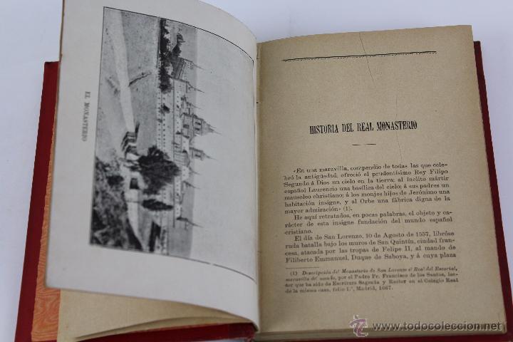 Libros antiguos: L-3085 GUIA DEL MONASTERIO DE SAN LORENZO DE EL ESCORIAL. IMPR. DEL HOSPICIO 1899 - Foto 3 - 54193383