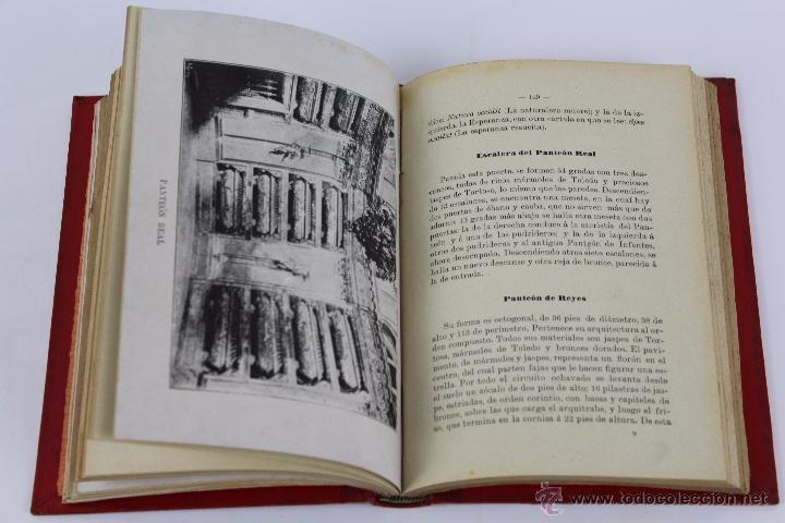 Libros antiguos: L-3085 GUIA DEL MONASTERIO DE SAN LORENZO DE EL ESCORIAL. IMPR. DEL HOSPICIO 1899 - Foto 4 - 54193383