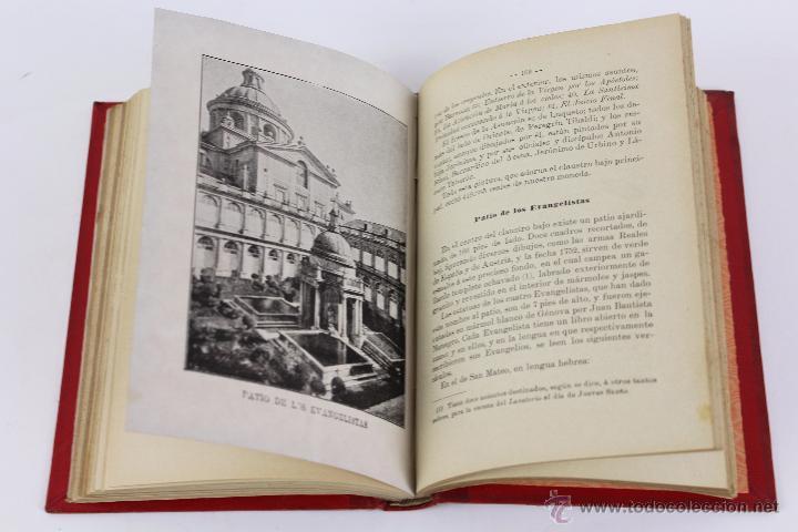 Libros antiguos: L-3085 GUIA DEL MONASTERIO DE SAN LORENZO DE EL ESCORIAL. IMPR. DEL HOSPICIO 1899 - Foto 5 - 54193383