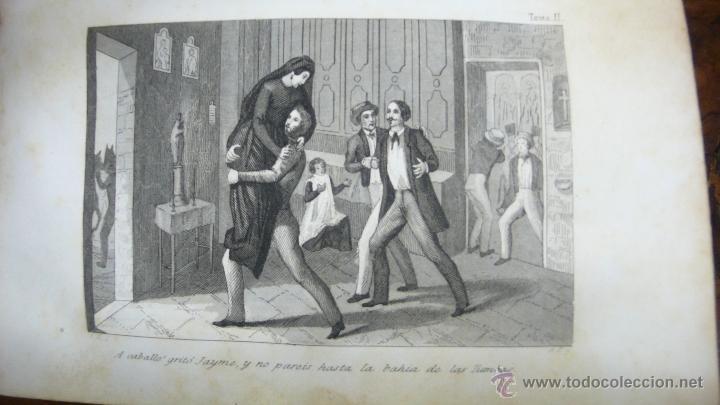 Libros antiguos: JORGE. NOVELA DE ALEJANDRO DUMAS. CON GRABADOS. 2 TOMOS EN 1 VOL. 1848. - Foto 3 - 54203891