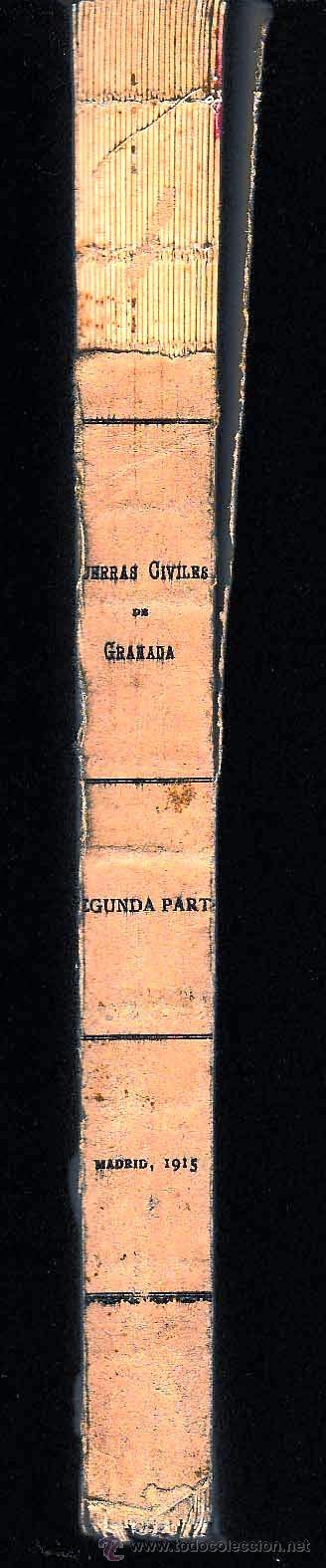 Libros antiguos: Daño en lomo - Foto 2 - 54220452
