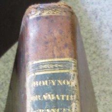 Libros antiguos: LECCIONES PRÁCTICAS DE LENGUA FRANCESA D. MAURICIO ROUYNOT AÑO 1832 SIGLO XIX. Lote 54269806