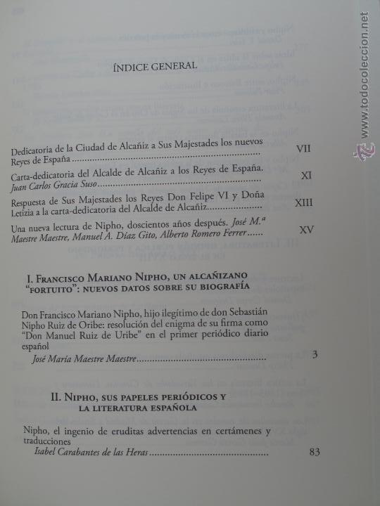 Libros antiguos: EL NACIMIENTO DE LA PRENSA Y DE LA CRÍTICA LITERARIA PERIODISTICA EN LA ESPAÑA DEL SIGLO XVIII.- - Foto 3 - 54276406