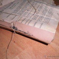 Libros antiguos: MEDICINA DR JESUS DEL CAÑIZO ANTIGUO LIBRO MECANOGRAFIADO 800 PAGS PATOLOGIA ETC.......... Lote 54295275