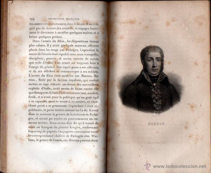 Libros antiguos: THIERS : HISTOIRE DE LA REVOLUTION FRANÇAISE - 10 VOLÚMENES (FURNE, PARIS, 1838) - Foto 3 - 54295743