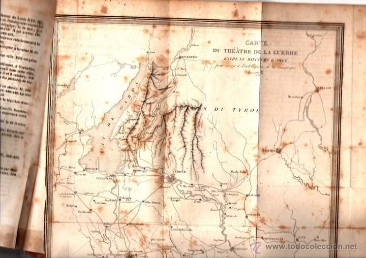 Libros antiguos: THIERS : HISTOIRE DE LA REVOLUTION FRANÇAISE - 10 VOLÚMENES (FURNE, PARIS, 1838) - Foto 5 - 54295743