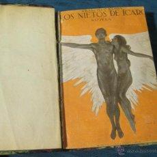 Libros antiguos: LOS NIETOS DE ICARO. FRANCISCO CAMBA. SEGUNDA EDICION. EX LIBRIS FEDERICO SAINZ DE ROBLES. Lote 54299906