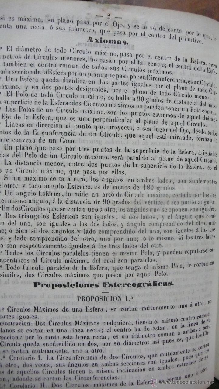 Libros antiguos: COLECCIÓN REPERTORIO PARA MARINOS, Y MATEMÁTICOS, DE PROBLEMAS DE TRIGONOMETRIA ESFÉRICA. 1849. - Foto 2 - 54325501