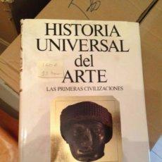 Libros antiguos: HISTORIA UNIVERSAL DEL ARTE. Lote 54341588