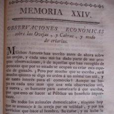 Libros antiguos: MODO DE CRIAR OVEJAS Y CABRAS.MADRID 1778. VETERINARIA. Lote 54404514