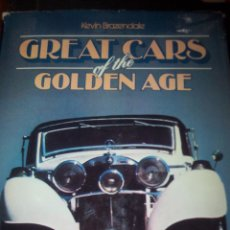 Libros antiguos: GREAT CARS OF THE GOLDEN AGE. Lote 54414269