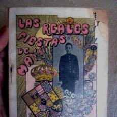 Libros antiguos: REALES FIESTAS DE MAYO. GUIA DE MADRID 1902. Lote 54417858