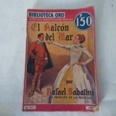 Libros antiguos: BIBLIOTECA ORO. EL HALCON DEL MAL. 1934. Lote 54428466