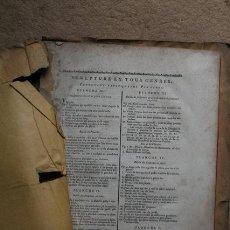Libros antiguos: SCULPTURE EN TOUS GENRES, CONTENANT VINGT QUATRE PLANCHES. . Lote 54432070