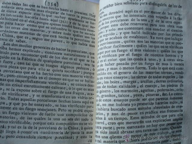 Libros antiguos: MODO DE HACER LA PORCELANA Y EXPLICACION DE LA DE LA CHINA REAUMUR ..MADRID 1778. CERAMICA - Foto 2 - 54405337