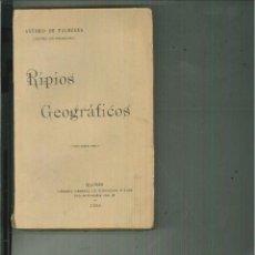 Libros antiguos: RIPIOS GEOGRÁFICOS. ANTONIO DE VALBUENA. Lote 54459907