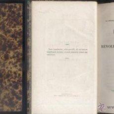 Libros antiguos: DISCOURS. SUR L'HISTOIRE REVOLUTION D'ANGLETERRE. M. GUIZOT, PAR. A-H-722. Lote 54561560
