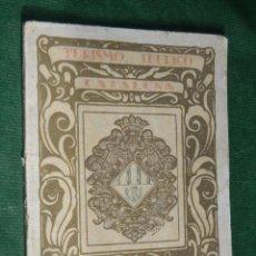 Libros antiguos: GUIA IBERICA DE TURISMO CATALUÑA - TARRASA - AÑOS 1920. Lote 54589918