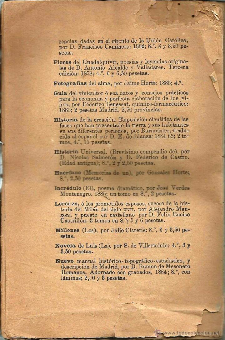 Libros antiguos: LIBRO *LA VIZCONDESA GERMANA* (LAS TRAGEDIAS DE PARÍS) 1886 de Xavier de Montepin. - Foto 3 - 54666241