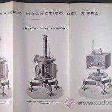 Libros antiguos: AZPIAZU : MAGNETISMO TERRESTRE. SU ESTUDIO EN ESPAÑA. (1919) SISMOGRAFÍA. TERREMOTOS. Lote 54676828