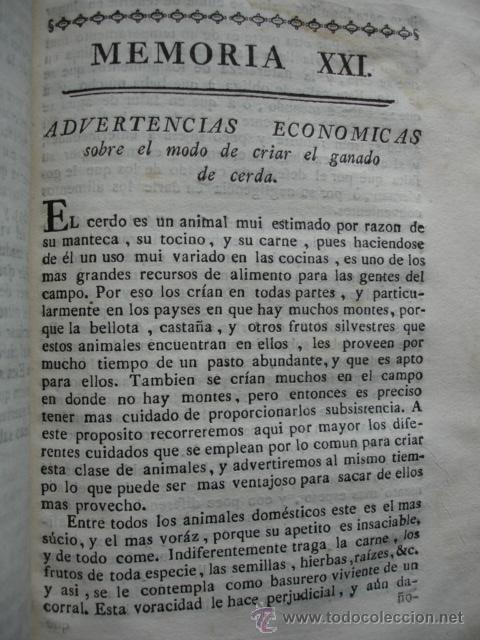 CRIAR GANADO DE CERDA.VETERINARIA .GANADERIA .1778. (Libros Antiguos, Raros y Curiosos - Ciencias, Manuales y Oficios - Otros)