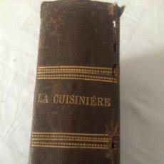 Libros antiguos: LA CUISINIERE. Lote 54718440