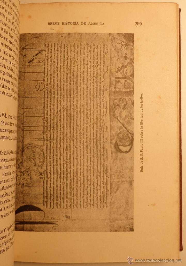 Libros antiguos: Breve Historia de América - autor: Carlos Pereyra - - Foto 2 - 54723115