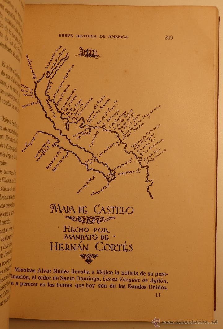 Libros antiguos: Breve Historia de América - autor: Carlos Pereyra - - Foto 3 - 54723115