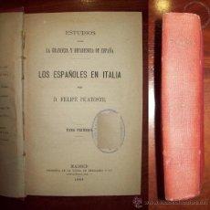 Libros antiguos: PICATOSTE, FELIPE. ESTUDIOS SOBRE LA GRANDEZA Y DECADENCIA DE ESPAÑA. Lote 54735601
