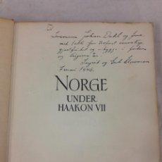 Libros antiguos: LIBRO -NORUEGA BAJO HAAKON VII- 1905-1945.. Lote 54759483