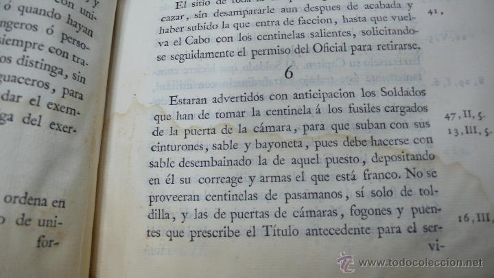 Libros antiguos: ORDENANZAS GENERALES DE LA ARMADA NAVAL. Parte primera. Tomo II. [MAZARREDO, José de.] 1793. - Foto 7 - 54785533