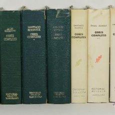 Libros antiguos: 7235 - OBRES COMPLETES. 13 EJEM. VV. AA(VER DESCRIP). EDI. SELECTA. 1947-1983.. Lote 54540746