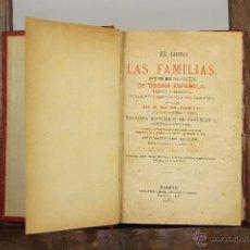 Libros antiguos: 3404 - EL LIBRO DE LAS FAMILIAS. VV. AA. EDI. LEOCADIO LOPEZ. 1876.. Lote 52029599