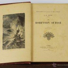 Libros antiguos: 6196 - LE ROBINSON SUISSE. J. R. WYSS. LI. HACHETTE. 1906.. Lote 49303561