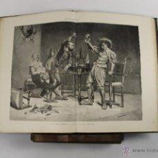 Libros antiguos: 5531- ALBUM ARTISTICO. ILUSTRACION ARTISTICA. SIN TEXTO SOLO LAMINAS. 1882/1883. 2 VOL.. Lote 46033094