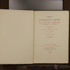 Libros antiguos: 5620- LA LUNA NUEVA. RABINDRANATH TAGORE. EDIT. JUAN RAMON GIMENEZ. 1922.. Lote 46145043