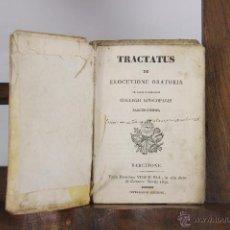 Alte Bücher - 5457- TRACTATUS DE ELOCUTIONE ORATORIA. IMP. VIUDA DE PLA. 1832. - 45736760