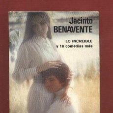 Libros antiguos: JACINTO BENAVENTE OBRAS COMPLETAS TOMO VIII 3ªEDICION AÑO1962 1112PAG EDITORIAL AGUILAR LL1184. Lote 54870760